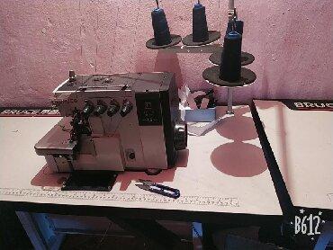 в Беловодское: Продается швейная машинка четырех нитка и прямострочка фирмы bruce