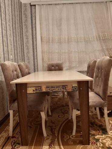 Versace stol+6stul 400manata satılır.dəst yaxşı