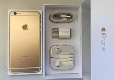 Yeni iPhone 6 64 GB Qızılı
