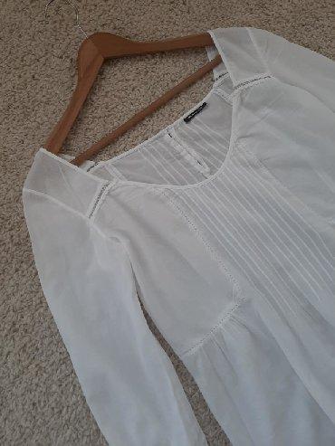 Massimo Dutti boho bluza bela.Veličina M Materijal pamuk 100% Coton
