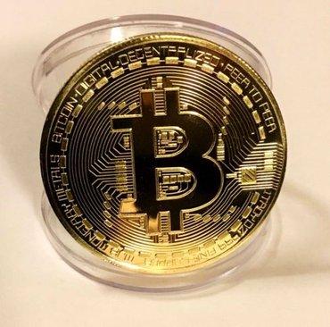 Сувенирная/коллекционная монета 📈Биткоин. Отличный💲бизнес-подарок для в Бишкек
