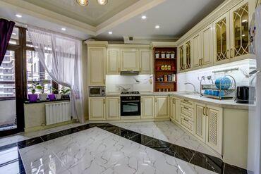 Продажа квартир - 3 комнаты - Бишкек: Элитка, 3 комнаты, 120 кв. м Бронированные двери, Видеонаблюдение, Лифт