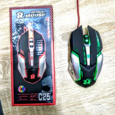 sican - Azərbaycan: Quideny 25 model isiqli oyun ucun sican maus. gamer gaming mouse