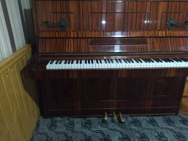 Пианино, фортепиано - Азербайджан: Pianino (Belarusiya) 300 azn səliqəli vəziyyətdədir.Cox islenmeyib