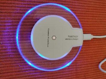 Wirelles punjac  Qi standard  USB kabal uz njega, uputstvo i pakovanje