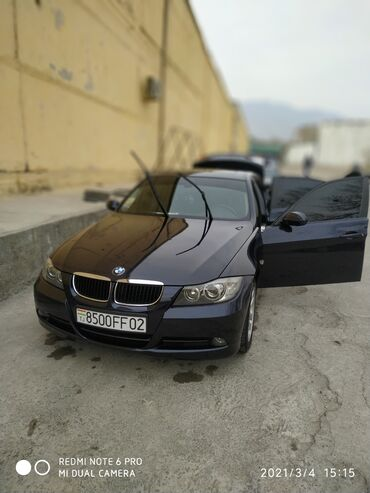 BMW 3 series 2 л. 2007 | 91195 км