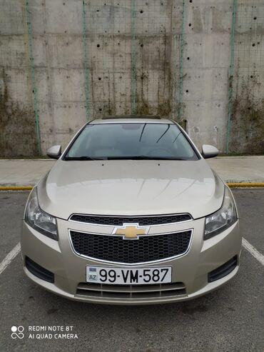 cruze - Azərbaycan: Chevrolet Cruze 1.4 l. 2012   123 km