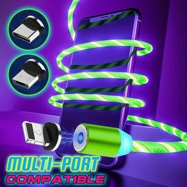 Maske za telefon - Srbija: Magnetni punjač za sve vrste mobilnih telefona (3 ulaza u 1