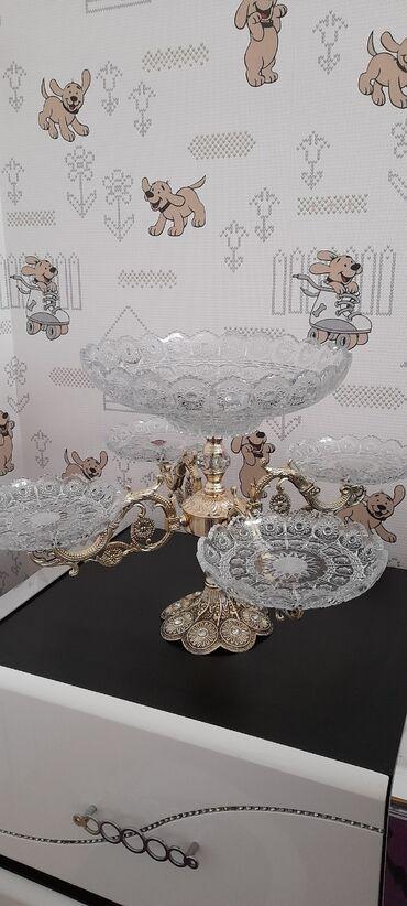 вазы керамические в Азербайджан: Teze.islenmeyib.5li qab. 60 man.qutusu var. Sumqayit