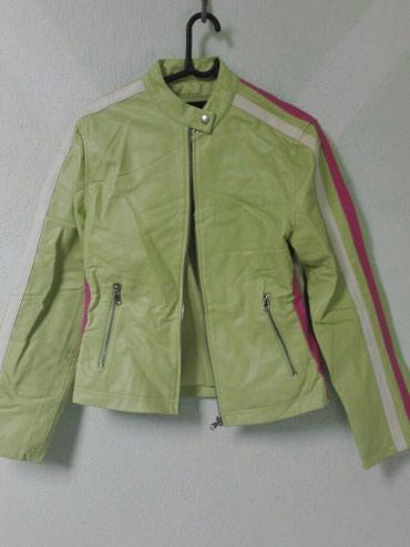Zenska jakna od eko koze,velicine xl,ali odgovara L,ocuvana,bez - Odzaci