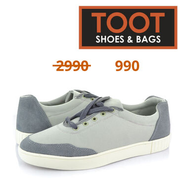 43-размер в Кыргызстан: Toot shoes&bags кеды артикул: 084-a-1s цвет серый  сезон весна