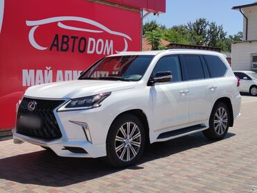 Lexus в Кыргызстан: Lexus LX 4.5 л. 2017   30000 км