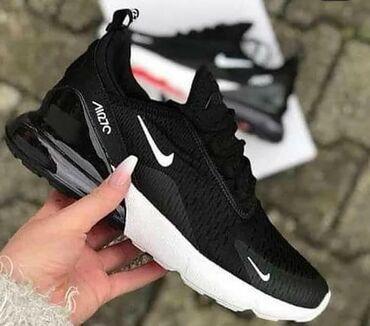 Crno bele Nike 270  Dostupni brojevi  od 37 do46 :) I.R