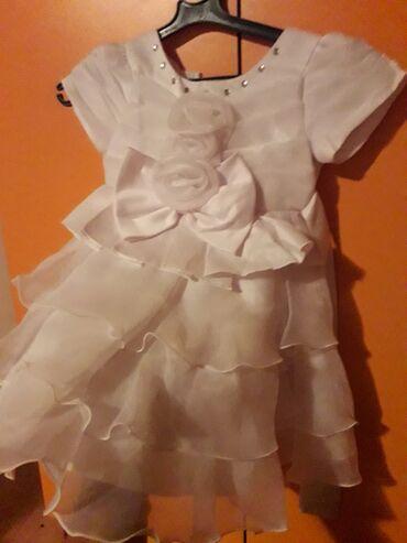 Decije haljine - Pirot: Svecana haljinica za devojcice vel 3. Novo !