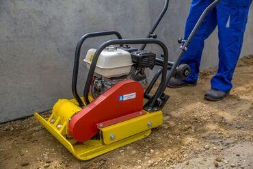Аренда вибро плитыТрамбовщик грунта бенз350 сом час1600 сом день2400