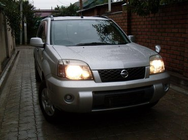 avtomobil-nissan-march в Кыргызстан: Nissan X-Trail 2003 | 126111 км