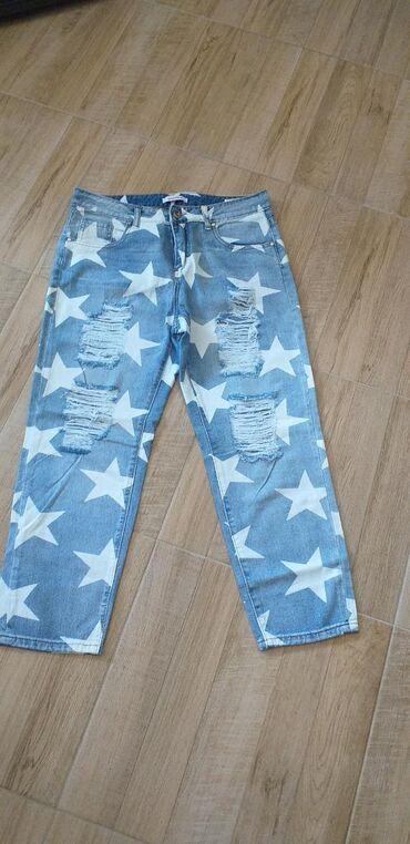 Farmerice Glamoo/capri.Mekani džins,nemaju elastina.Kraci