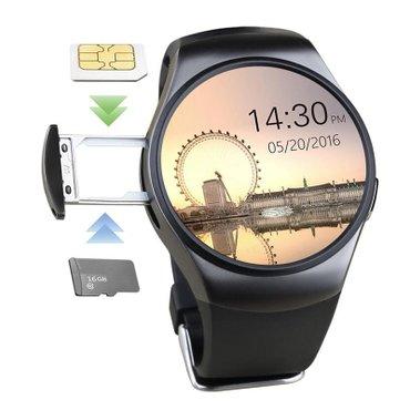 Смарт часы KW18 с уникальным круглым экраном и массой необходимо в Бишкек