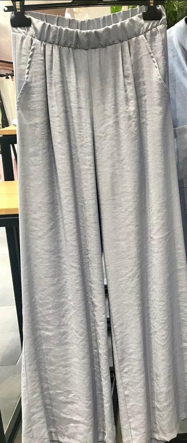Bele-siroke-pantalone - Srbija: SPUSTENA CENA SADA 1000 DIN Tanke, udobne siroke pantalone, nije