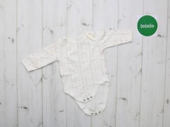 Боди для новорожденного    Цвет: молочный с принтом Материал: хлопок Д