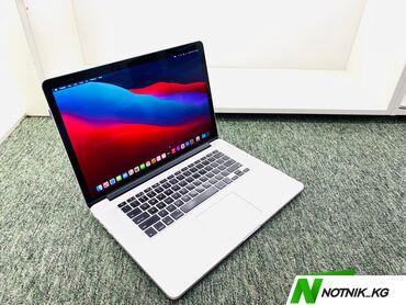 дискретная видеокарта для ноутбука купить в Кыргызстан: MacBook Pro 15 USA(привозные,США)-модель-A1398-процессор-core