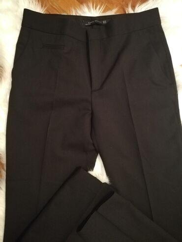 Zara ®crne pantaloneVeličina 38. Kao Nove! Dužina 100cm, nogavica