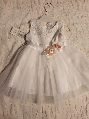 белье для девочек в Азербайджан: Новое нарядное платье для девочки на 12 месяцев