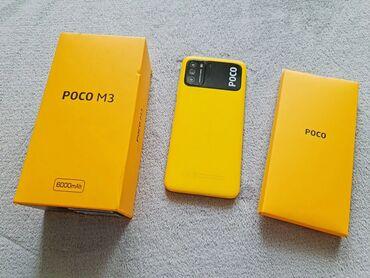 аккумуляторы для смартфонов в бишкеке in Кыргызстан | XIAOMI: Xiaomi Poco M3 | 64 ГБ | Желтый | Сенсорный, Отпечаток пальца, Две SIM карты