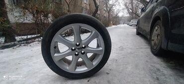 диски камаз бу в Кыргызстан: Продаю комплект титановых диск с летними резинами Michelin 215/50/17