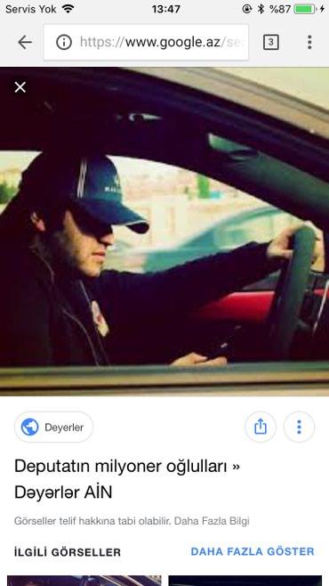 Bakı şəhərində Ayiq surucu bey teleb olunur is saati  axwam 8den gece 2 ye kimi emek