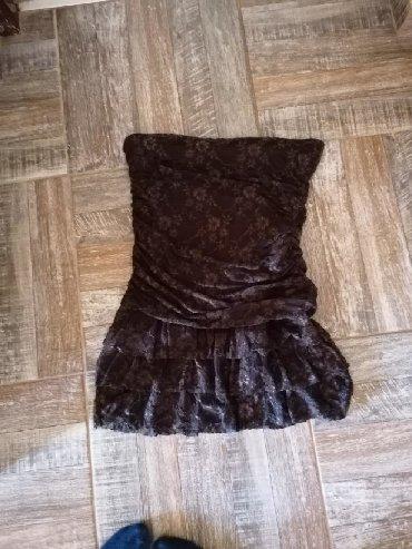 Bela-haljina-sa-cipkom - Srbija: Top haljina sa cipkom, vel. S/M