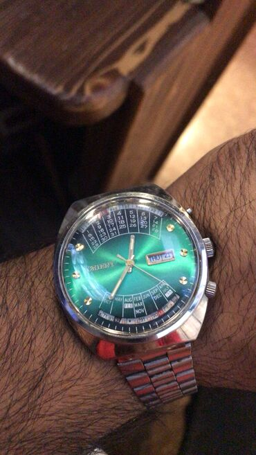 super maz - Azərbaycan: Gümüşü Kişi Qol saatları Orient