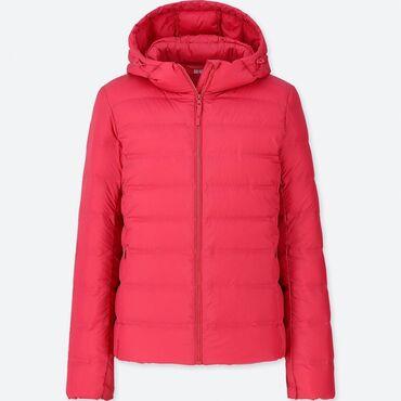 куртки uniqlo в Кыргызстан: Детская куртка Uniqlo с капюшономлегкая утепленная. Верхний слой из