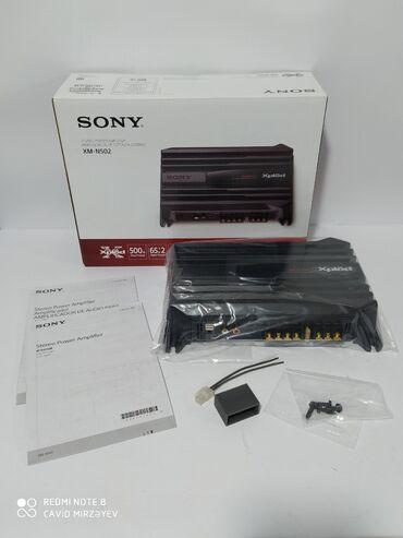 Sony xplod ses guclendirici🚙Avtomobil aksesuarların satışıSatılan