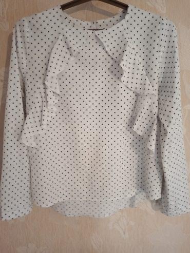 Блузка из приятной стрейчевой ткани, в Лебединовка