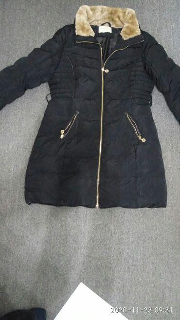 женское платье 52 в Кыргызстан: Женский пуховик зимний р.50-52