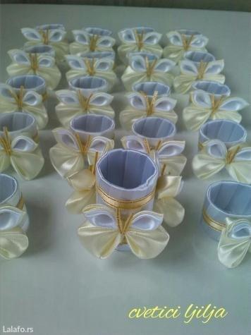 Prstenovi za salvete moguca izrada u vise boja  - Loznica - slika 5