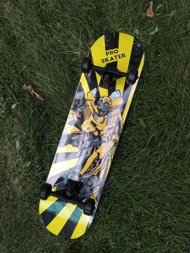 гиря 20 кг в Кыргызстан: Профессиональный трюковой скейтборд с принтом трансформера. Длина: 78
