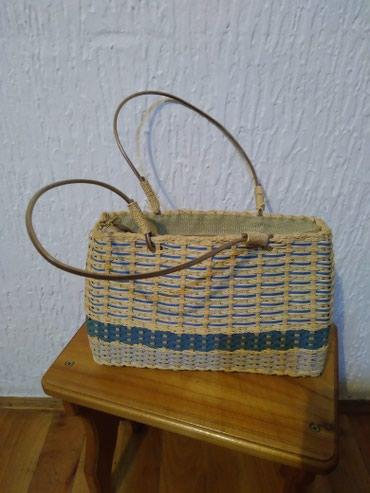 Pletena Grčka torba ,veoma zanimljiva - Vranje