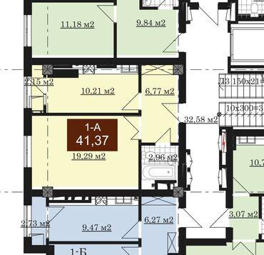 Продается квартира: Элитка, Западный автовокзал, 1 комната, 41 кв. м