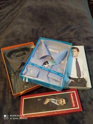 teplyj-puhovik-na-zimu в Кыргызстан: Продаю мужские рубашки в коробках. В хорошем качестве, закрыты. Размер