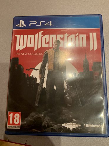 ps4 oyun - Azərbaycan: Ps4 oyunu Wolfenstein 2 the new colossus