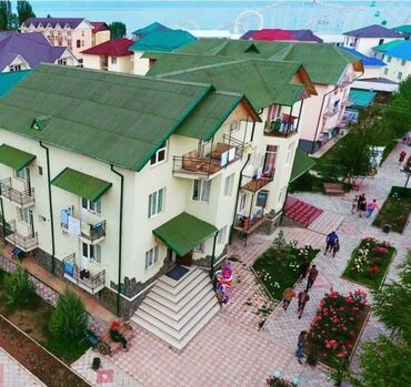 коттеджи на иссык куле в аренду в Кыргызстан: Продается Коттедж на Иссык-Куле3 этажный (+1 цокольный этаж)13 комнат