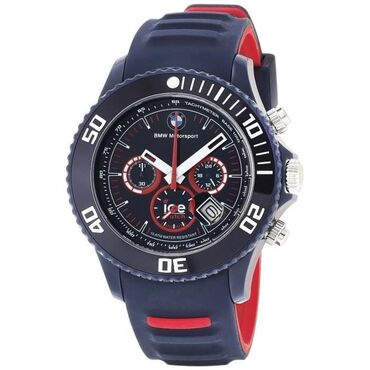 barkod - Azərbaycan: Ice watch𒊹︎bmw motorsport𒊹︎limited edition 𒊹︎dark blue & red ölçü-