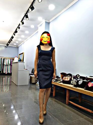 коктейльные платья футляр в Кыргызстан: Платье коктейльное футляр, одевала 1 раз, размер s цена 2800 покупала