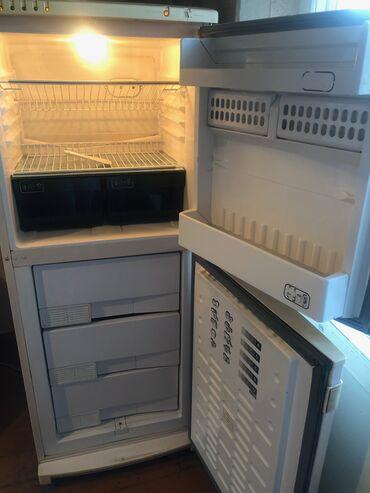 Холодильники - Кыргызстан: Б/у Двухкамерный Бежевые холодильник