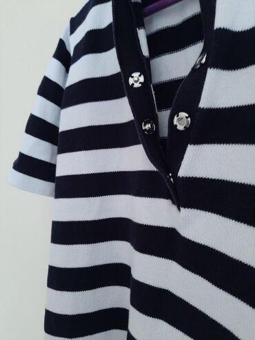 Bluza sa rukav - Srbija: MARCO PECCI dzemper bluza. Vel 44Kratki rukav sa prugama. Punije