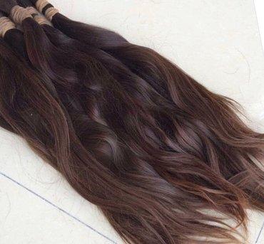 Prirodna kosa, indijskog porekla, duzina 60cm. Moze slike ostale na br - Vranje