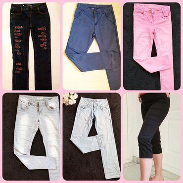 Farmerke pantalone po 500 din  Sve su prelepe i kao nove