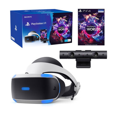 ps games в Кыргызстан: Playstation vr + game vr worlds описание playstation vr + game vr worl